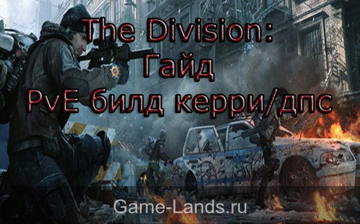 the division билд дамагера