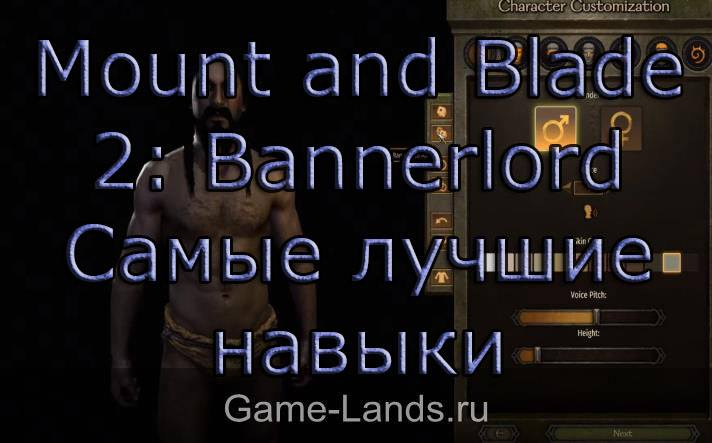 Mount and Blade 2: Bannerlord – Самые лучшие навыки