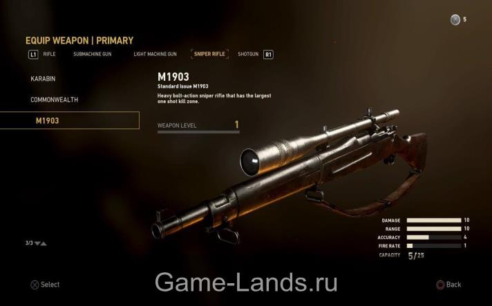 M1903 Call of Duty: WWII