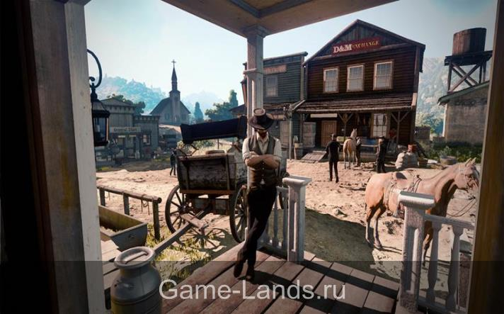Карта в игре red dead redemption 2